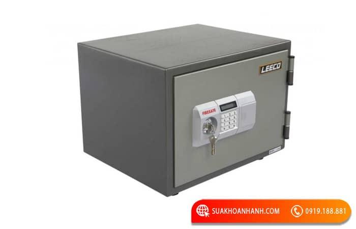 Cách mở két sắt Leeco khóa điện tử