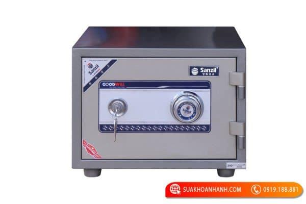Cách mở két sắt Sanzil đơn giản, hiệu quả nhất