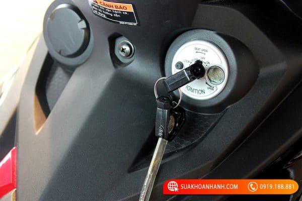 Cách khắc phục khi làm mất chìa khóa xe máy Yamaha