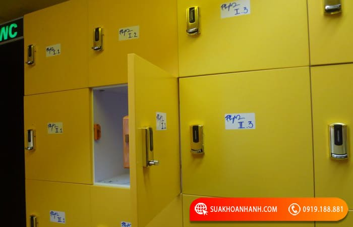 Cách mở khóa tủ Locker cá nhân
