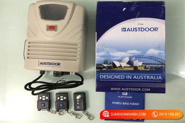 Dịch vụ làm Remote cửa cuốn Austdoor uy tín nhất