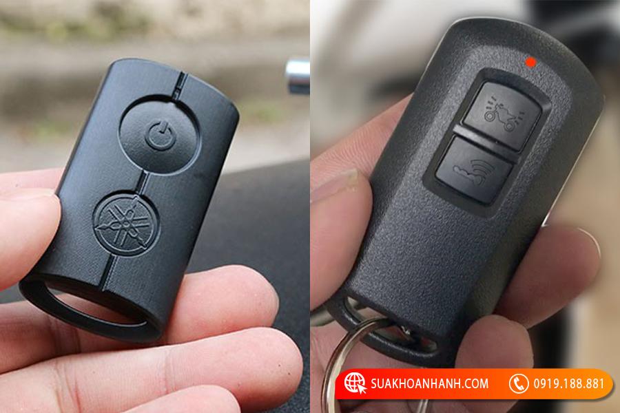 cách thay pin chìa khóa smartkey
