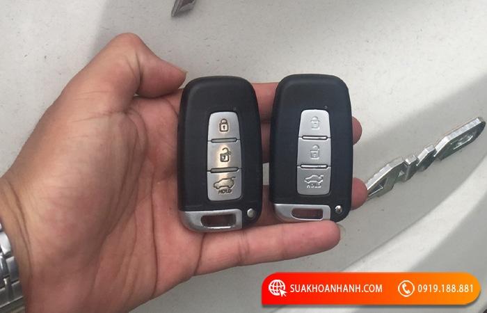 Làm chìa khóa xe Hyundai Tucson