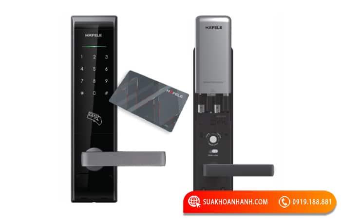 khóa cửa điện tử hafele