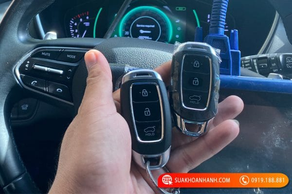 Làm chìa khóa ô tô tại Thái Nguyên chất lượng, giá tốt